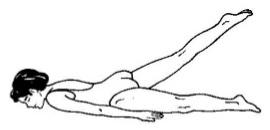 media postura del saltamontes